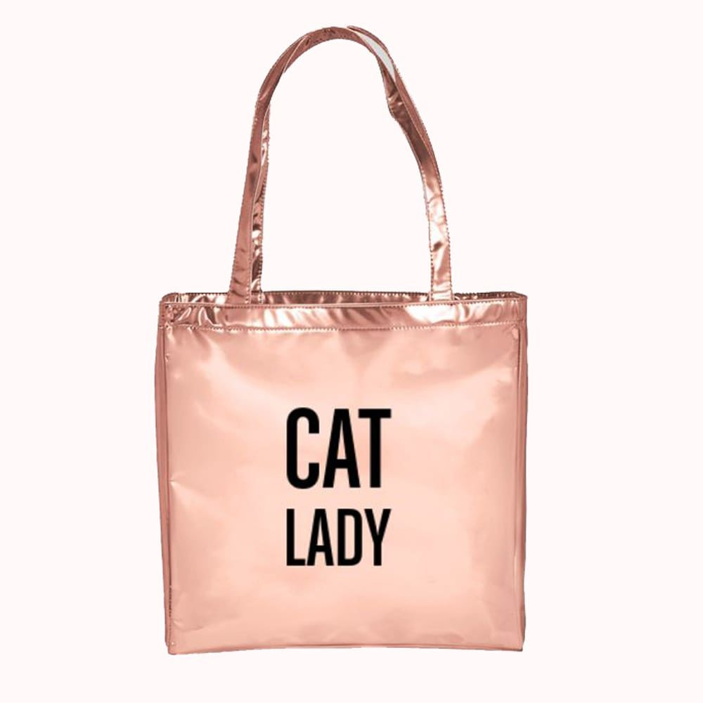 CAT LADY FASHION TOTE