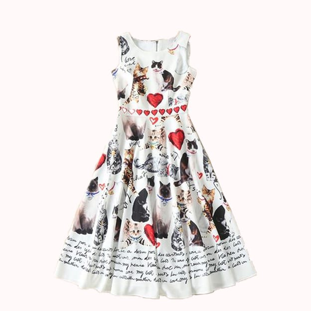 LOVER CAT DRESS