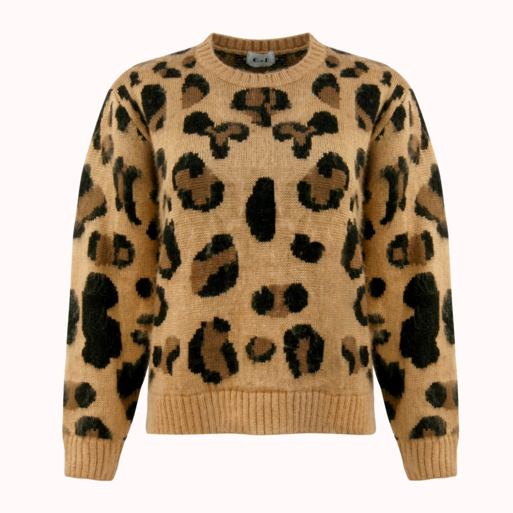 LEOPARD LADY SWEATER