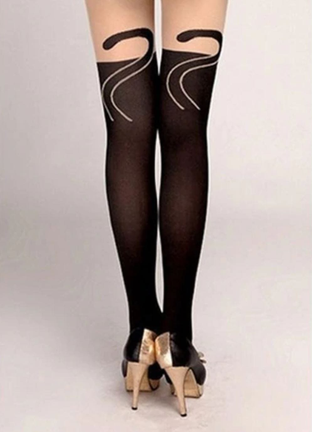 CAT STRUT STOCKINGS