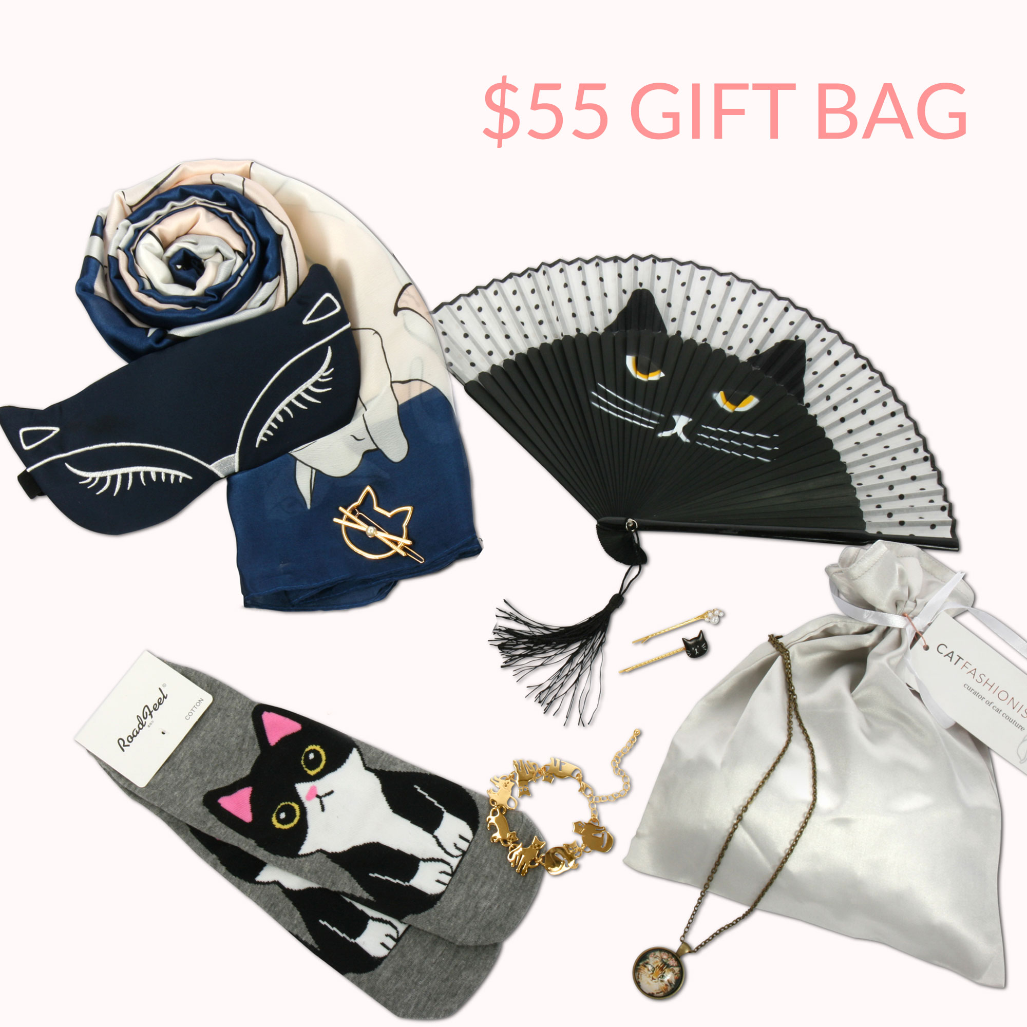 CAT LOVER GIFT BAG
