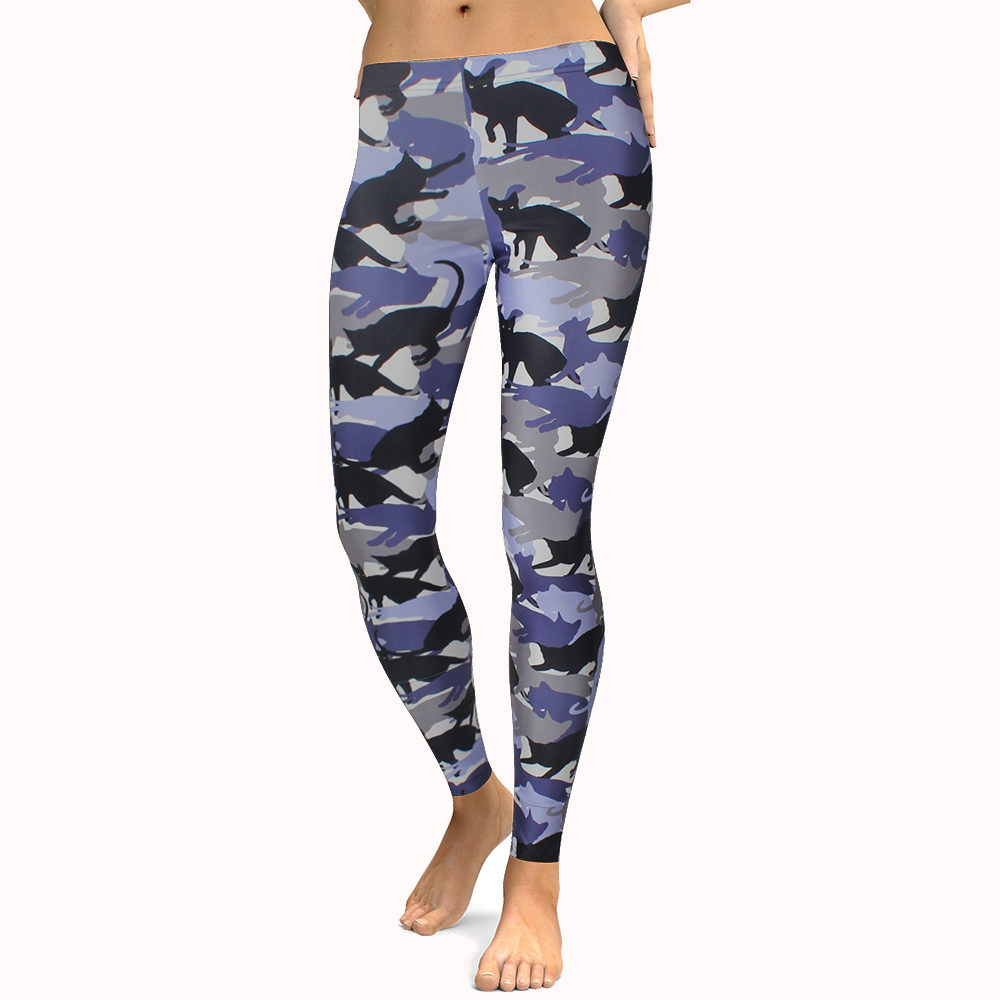CAMO KITTEN LEGGINGS
